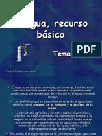 T14-Agua Recurso Basico