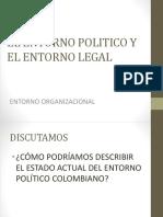 Entorno politico y legal