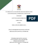 UNA MIRADA HACIA LA INCLUSION DEL ADULTO MAYOR EN EL USO DE LAS TECNOLOGÍAS DE LA INFORMACIÓN Y COMUNICACIÓN