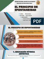 9° EL PRINCIPIO DE ESPONTANEIDAD