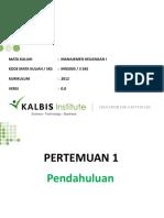 Mk I-01 Financial Management