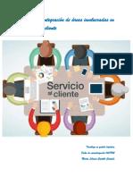 Fase III. Areas Involucradas en El Servicio Al Cliente