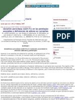 Glutatión Peroxidasa (GSH-Px) en Las Patologías Asociadas a Deficiencias de Selenio en Rumiantes