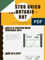 Registro Unico Tributario - Rut. Jose Ignacio Gonzalez