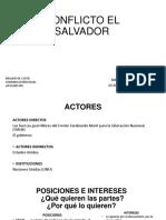 CONFLICTO EL SALVADOR
