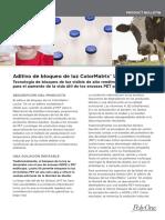 ColorMatrix Lactra SX - Product Bulletin - Spanish