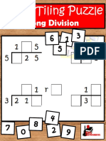 Tiling Long Division Puzzle Free