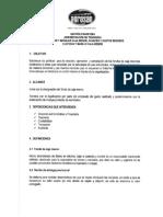 Instructivo Reembolso Caja Menor AGROSAN