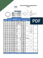 Anillos de Retencion Especificaciones Para Catalogo de Producto DIN 471