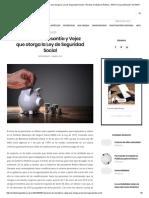 Pensión de Cesantía y Vejez Que Otorga La Ley de Seguridad Social – Revista Contaduría Pública _ IMCP _ Una Publicación Del IMCP