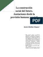Dialnet-LaConstruccionSocialDelFuturoAnotacionesDesdeLaPre-5006378