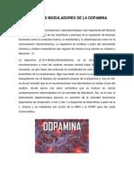 Fármacos Moduladores de La Dopamina