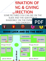 Examination of Directions