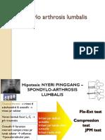 13.Spondyloathrosis Lumbalis.pptx
