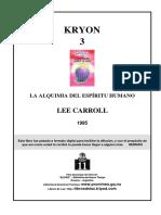 KRYON - 3 - LA ALQUIMIA DEL ESPIRITU HUMANO.pdf