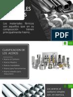 Ferrosos materiales