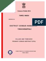 Census 2011 Trichy