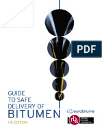 Guide to Safe Delivery of Bitumen(2011)