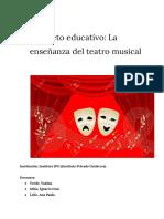 Taller de Teatro Musical -Pellegrini