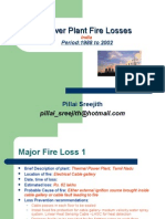 Major Power Plant Losses