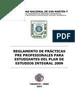 Reglamento de Practicas Pre Profesionales 2014_Ver5 (2017I)