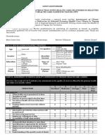 survey questionnaire - health care