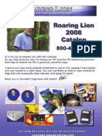 Roaring Lion Catalog Web