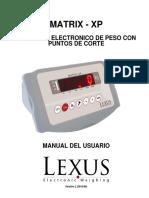 Manual Matrix Xp