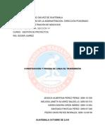 Gp Construccion y Prueba de Linea de Transmisión