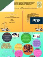 Delitos Contra La Fe Pública y Delitos Intelectuales en El Código Penal Peruano