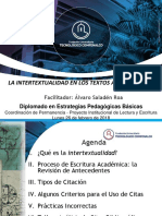 Intertextualidad en Textos Académicos-Á. Saladén (26 Feb. 2018)