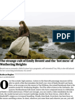 The strange cult of Emily Brontë and the 'hot mess' of Wuthering Heights | Books | The Guardian