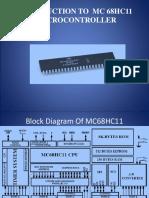 Introduction to mc68hc11