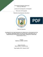 Diagnostico de Necesidades de Servicios Estudiantiles en El Centro Universitario de Educacion a Distancia de La Universidad Pedagogica Nacional Francisco Morazan Tegucigalpa Mdc