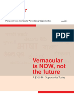 redseer consulting report on vernacular languages