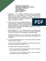 VILLACORTA, FRANCIS V ME PREPARATION IN STATISTICS HYPOTHESIS.docx