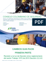 Cambios RUC