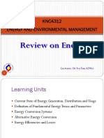 Chap 1 Review on Energy