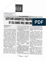 Philippine Daily Inquirer, Oct. 30, 2019, Cayetano guarantees Philippine hosting of Sea Games will run smoothly.pdf