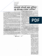 Philippine Star, Oct. 30, 2019, Leni should shut up after refusing drug czar offer.pdf
