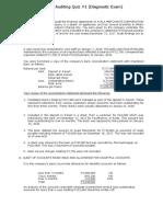 Applied Audit -Diagnostic