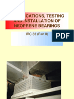 Testing of NEOPRENE Bearings SKG (1)