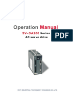 DA200 Series AC Servo Drive Operation Manual_V2.2