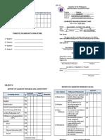 SF 9 - ES ((Learner's Progress Report Card)