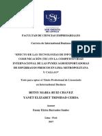 2017 Ruiz Efecto de Las Tecnologias de Información y Comunicacion