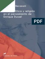 Ética, Política y Religión en el pensamiento de Enrique Dussel