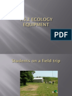 1.5.2 Ecology Equipment
