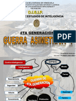 Seguridad y Defensa. DISIP. Antecedentes de La Guerra Asimetrica