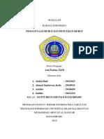 MAKALAH Bahasa Indonesia k.3