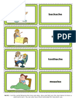 health problems esl vocabulary game cards for kids.pdf